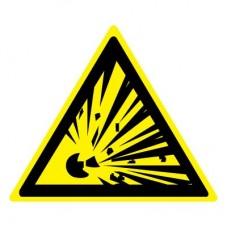 W02 Взрывоопасно (Пленка 050 x 050)