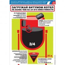 """Плакат """"Безопасность при производстве изоляционных работ"""""""