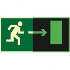 ФЭС E03 Направление к эвакуационному выходу направо (Пленка 150 x 300)