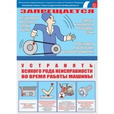 """Плакат """"Безопасность труда. Кондитерская промышленность"""""""