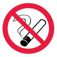 P01 Запрещается курить (Пленка 100 х 100)