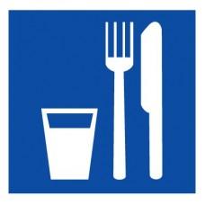 D01 Пункт приема пищи (Пластик 300 х 300)