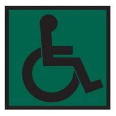 Доступность для инвалидов всех категорий (Пленка 200 х 200)