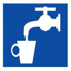 D02 Питьевая вода (Пластик 250 х 250)
