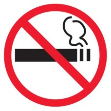 T214H Знак о запрете курения (Пленка 220 x 220)