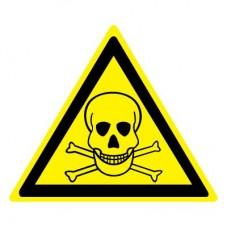 W03 Опасно. Ядовитые вещества (Пленка 050 x 050)
